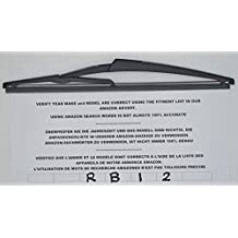 Exact Fit - Limpiaparabrisas trasero RB12 para