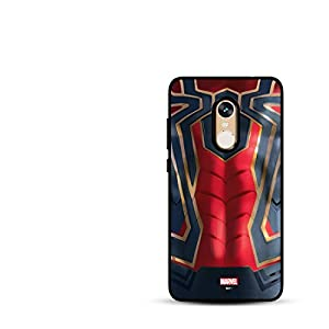MTT TPU Spider Man Infinity War Armor Back Case Cover for Redmi Note 4