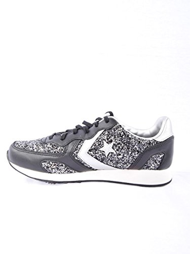 Converse All star Auckland racer ox 555083C glitter brunito MainApps Nero