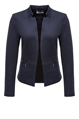 Only Damen Blazer Anzugjacke Business Jacke Jackett (S, Night Sky) (Blazer Jacke Blaue)