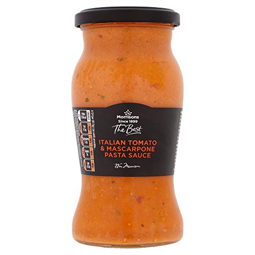 Morrisons The Best Tomato and Mascarpone Pasta Sauce, 350 g