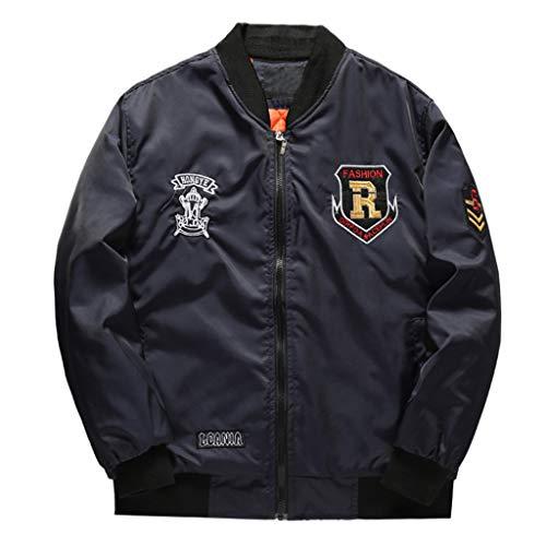 Schwarze Nieten-lederjacke (Setsail Herbst Gewinner Langarm Spleißen Sweatshirt Top T-Shirt Bluse Jacke Mantel)