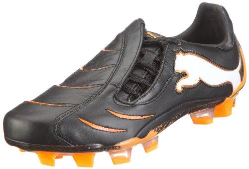 Puma PowerCat 1.10 FG 101898 Herren Sportschuhe - Fußball Schwarz/black-white-fluo orange