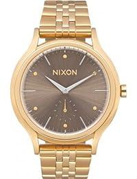 Nixon Damen Armbanduhr A994-2702-00 Sala All Light Gold / Taupe