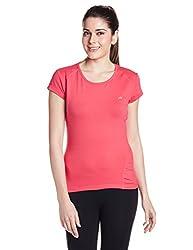 Proline Womens Plain T-Shirt (CM012_Fandango Pink_Small)