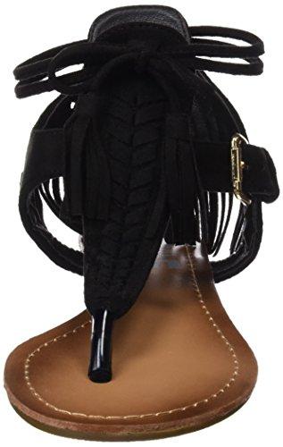Refresh  063432, sandales femme Noir (Black)
