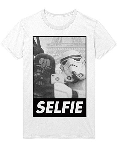 T-Shirt Darth Selfie Trooper H999941 Weiß S