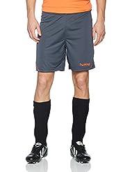 Hummel AUTH Charge Poly Pantalones Cortos, todo el año, hombre, color Ombre Blue/Nasturtium, tamaño XXL