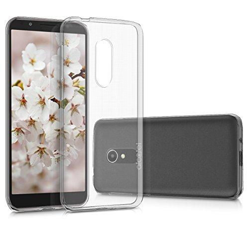 kwmobile Alcatel 1X (2018) Hülle - Handyhülle für Alcatel 1X (2018) - Handy Case in Transparent