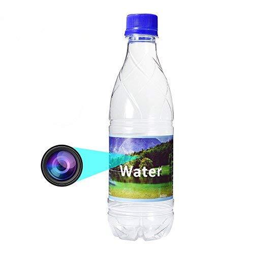 mit versteckter Kamera- und omoup Full HD 1080p Spion-Cam Trinkflasche Kunststoff, tragbare Trinkwasser-Kamera Video Recorder Mini DVR Camcorder mit Bewegungserkennung