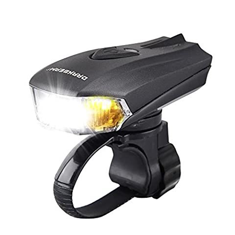 Darkbeam USB rechargeable Phare de vélo –-Ensemble de lumière de