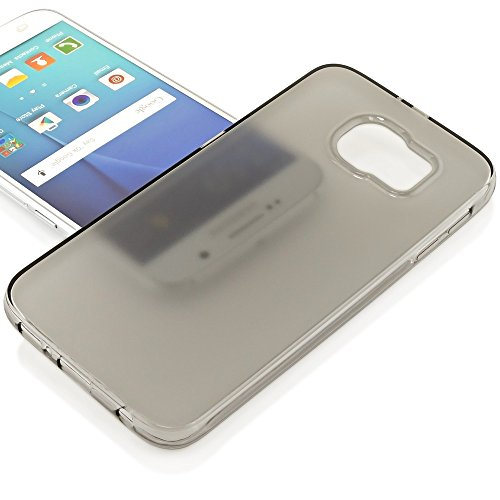 iPhone 6 6S Coque Silicone de NICA, Ultra-Fine Housse Protection Transparente Cover Slim Etui, Mince Telephone Portable Clear Gel Case Bumper Souple pour Apple iPhone 6S 6 Smartphone - Turquoise Gris Transparent