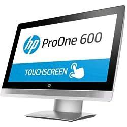 Ordenador de sobremesa All in One HP Pro One 600 G2 AIO I5-6500 RAM 8 GB SSD 256 WIN10PRO 21,5 Pulgadas táctil + Kit inalámbrico HP Grado A Wi-Fi AC (reacondicionado)