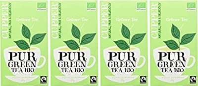 Cupper Grüner Tee, 4er Pack (4 x 35 g) von Cupper bei Gewürze Shop