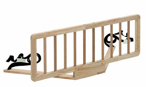 Safety 1st 24030100 Quiet Night Bettgitter aus Holz, natural