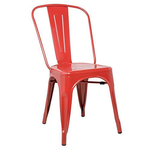 Fine Mod Imports Decorative Furniture Talix Chair, Red by Finemod Imports