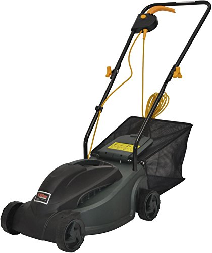 new-tesco-electric-rotary-lawn-mower-with-27l-grass-collection-bag-1000w-green