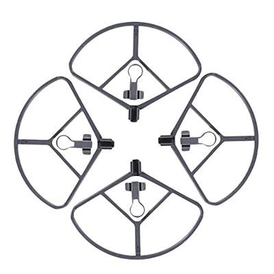 Rantow 4 Pieces Quick Release Protective Propeller Guard for DJI Mavic Pro Drone Blades Protector Propeller Bumper