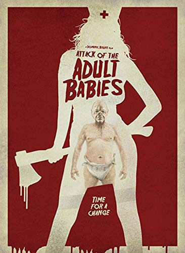 Attack of the Adult Babies - Uncut - Limited Uncut Edition (+ DVD), Cover A [Blu-ray]