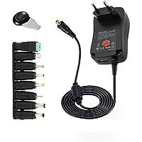 STRIR 30W Universal Conector de fuente 3V-12V 2000mA Max AC/DC adaptador Fuente