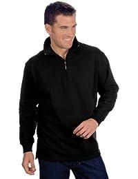 QUALITYSHIRTS Troyer Sweatshirt Gr. S - 6XL