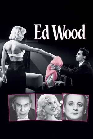 ED WOOD – Johnny Depp – US Imported Movie Wall Poster Print...