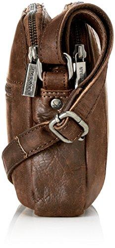 Sansibar - Zip Bag, Borse a tracolla Donna Marrone (Dark Brown)