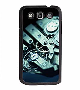 FABCASE Premium photo realistic pic art interiors of watch mechanism gears and screws Printed Hard Plastic Back Case Cover for Samsung Galaxy Quattro i8552