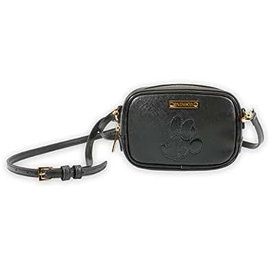 Cross Body Bag Minnie Mouse (Schwarz)