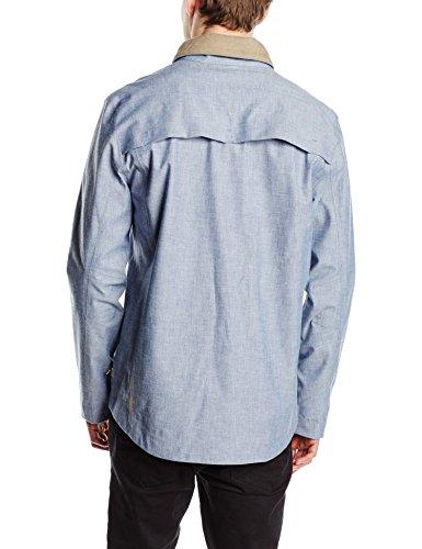 Coupe-vent Commuter Field Cliff Grey Levi's Bleu