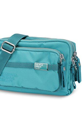 George Gina & Lucy Love Letters Mini Bag Sac bandouliére 19 cm bora bora blue