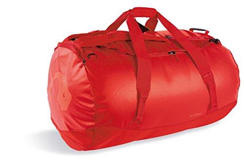 Tatonka Barrel XXL Reisetasche - 130 Liter - wasserfeste Tasche aus LKW-Plane mit Rucksackfunktion und großer Reißverschluss-Öffnung - Rucksacktasche - unisex - rot -