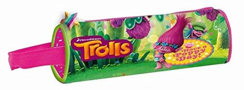 Copywrite Trolls Estuches, 23 cm, Multicolor