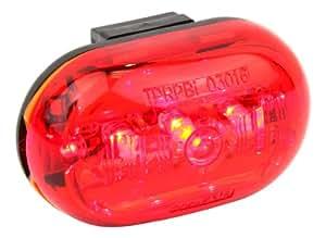 Ultrasport LED Fahrrad-Rücklicht, Rückleuchte 0,5 Watt inkl. Halterung – 5 LED´s