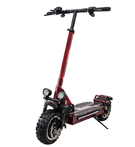 Qiewa Qpower Electric off-road Scooter 1200W Duble Motor with 11-inch off-road tires Max speed up to 80Km/h Super Power Crazy...