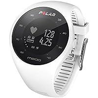 Polar M200 Laufuhr, Armbandgröße: M/L, Farbe: Weiß