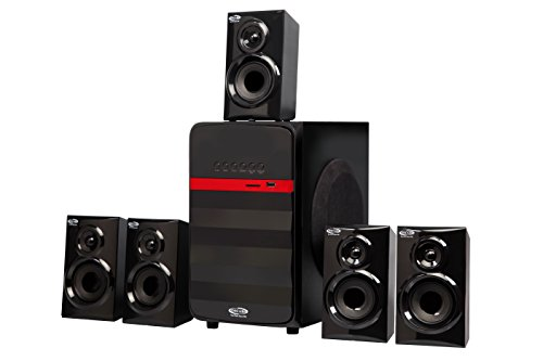 "OSCAR- OSC-62500BT 5.1 Channel 6000W PMPO (5.25"" Sub-Woofer) Home Theatre System"