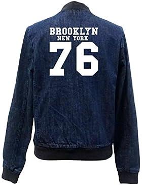 Brooklyn New York 76 Bomber Chaqueta Girls Jeans Certified Freak