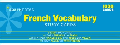 french-vocabulary-sparknotes-study-cards
