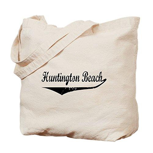 CafePress Huntington Beach Tragetasche, canvas, khaki, S