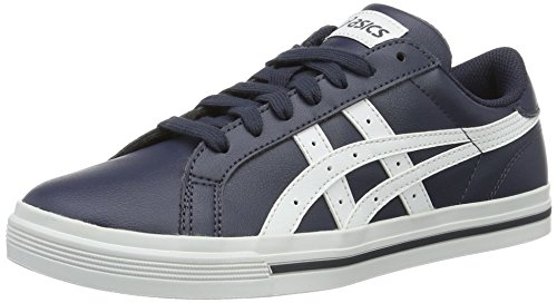 Asics Classic Tempo, Gymnastique mixte adulte Blu (India Ink/White)