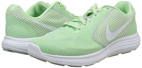Esecuzione Bianco In menta Femminile 3 Scarpe Verde Nike Lupo grigio Rivoluzione Ginnastica Fresca Da 87AA0wq