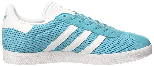 adidas Gazelle, Sneaker Uomo Blu (Energy Blue/footwear White/energy Blue)