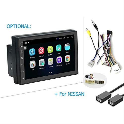 2din Android Auto Radio Multimedia Player Autoradio 2 Din 7'' GPS WiFi Bluetooth Touchscreen Auto Audio Player Stereo Nissan Kabel