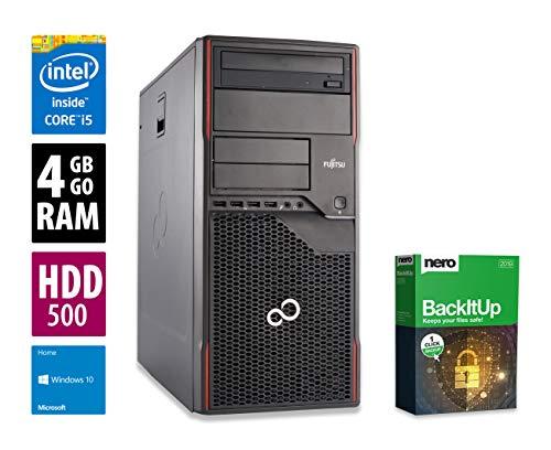 Fujitsu Esprimo P910 MT | PC | Computer | Intel Core i5-3550S @ 3,0 GHz | 4GB DDR3 RAM | 500GB HDD | DVD-Brenner | Windows 10 Home (Zertifiziert und Generalüberholt)