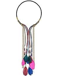 Yazilind Mujeres 2016 collar de oro Idea regalo de la joyería collar de perla collar de perlas