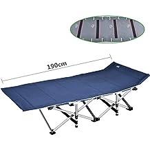 A-Qnice Pesca Plegable Cama para Acampar Dormir Mochila portátil Carpa para Muebles de Interior