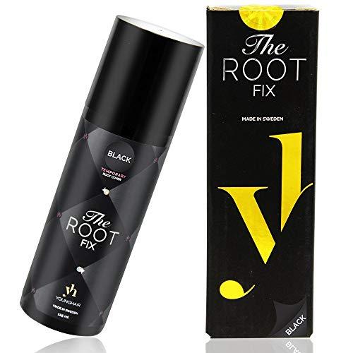 Schwarzes Haarspray - YoungHair The Root Fix Spray für