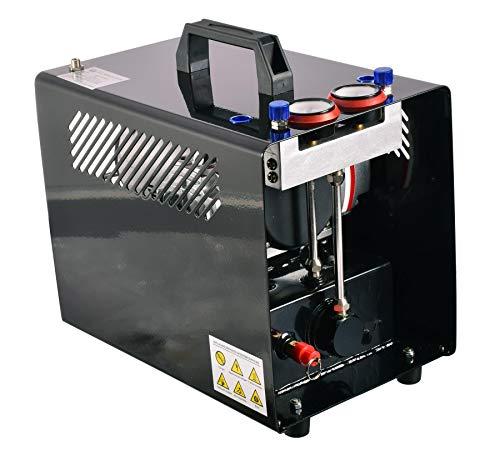 Compresor fuerza aerógrafo dos cilindros tanque aire