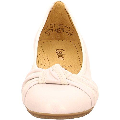 Gabor 24.162 Rosalie L, Damen Ballerinas Beige